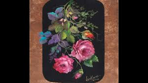 the beauty of oil painting series 3 episode 1 roses and gold leaf
