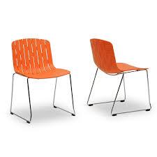 orange plastic chair. Prod Hei\u003d64 Wid\u003d64 Qlt\u003d50 Baxton Studio Ximena Orange Plastic Modern Dining Chair
