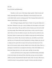 relationship essay family relationship essay