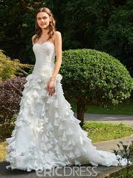 Ericdress Sweetheart A Line Garden Wedding Dress 13084493