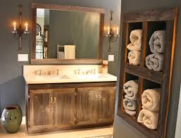 Rustic Bathroom Storage Bathroom Decorating Ideas For Bathroom Shelves Amazing Rustic