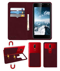 Gionee Dream D1 Flip Cover by ACM - Red ...