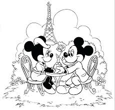 Minnie Mouse And Mickey Mouse Coloring Pages Mini Mouse Coloring