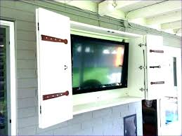 outside tv cabinet outdoor wall mount outdoor television cabinet handcrafted wall mount cabinet made outside wall