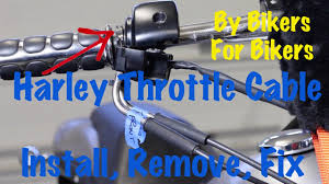 harley davidson throttle cable install remove replace repair harley davidson throttle cable install remove replace repair motorcycle biker podcast