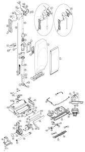 oreck u7070ecs forever series gold vacuum parts oreck u7070ecs