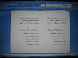 how to make wedding invitations on microsoft word how diy wedding invitations simple wedding invitations using on how to make wedding invitations on microsoft word