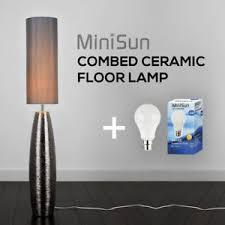lounge lighting. Image Is Loading Stylish-Ceramic-Floor-Lamp-Designer-Combed-Base-Chrome- Lounge Lighting E