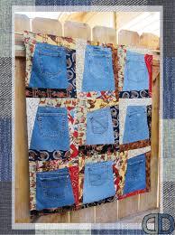 Vintage Denim Pocket Patchwork Wall Hanging Quilt by DenimDoOver ... & Vintage Denim Pocket Patchwork Wall Hanging Quilt by DenimDoOver, $75.00 Adamdwight.com