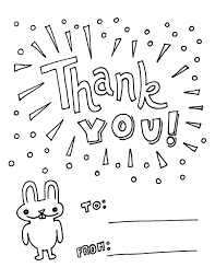 Thank You Coloring Sheets Thank You Cards Coloring Pages