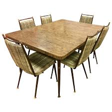 Daystrom Mid Century Modern Kitchen Dining Set Table Chairs For Sale
