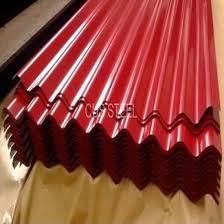 enamel paint corrugated metal roofing ppgi steel ceiling panel