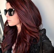 gallery for dark brown red tint hair color brown hair with purple tint