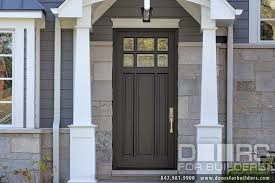single front doors. Custom Wood Front Entry Doors. Classic Collection 3 Panel Door, Euro Technology, Clear Single Doors