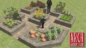 Home Vegetable Garden Design Container Gardening Idea Unique And ...