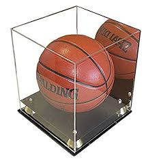Football Stands Display Amazon Full Size Basketball Display Case Stand UV 46