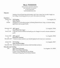 What Is Objective On A Resume Media Planner Objectives Resume Objective Livecareer