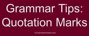 Grammar Tips Grammar Tip Archives Create Teach Inspire