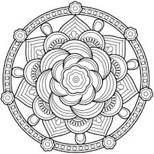 Small Picture Coloring Pages for Adults Adult Mandala Coloring Book on iPhone