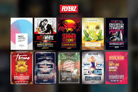 %off flyer template bundle flyer templates on creative market flyerz templates 9