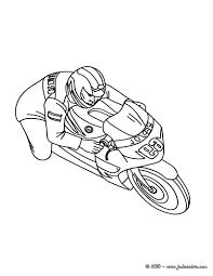 Coloriages Coloriage Moto De Course Imprimer Fr Hellokids Com