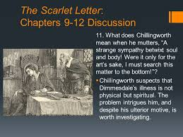 The Scarlet Letter Chapters 9 12 Discussion