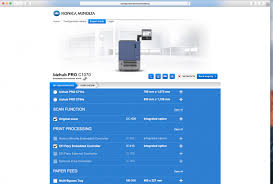 Pagescope ndps gateway and web print assistant have ended provision of download and support services. Konica Minolta Configurator Database
