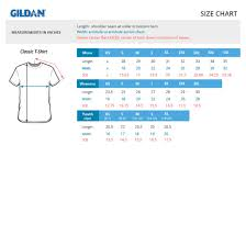 Gildan T Shirt Unisex Size Chart Rldm