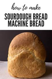 Check spelling or type a new query. Making Sourdough Bread In A Bread Machine Bread Experience