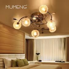 mumeng modern ceiling lamp multi pole creative chandelier aluminum ball 6 g9 bulb ring illuminacion foyer cafe bar hanging lamps modern ceiling lamp ceiling