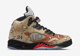 louis vuitton jordans. supreme x air jordan 5 sneakers in camo louis vuitton jordans