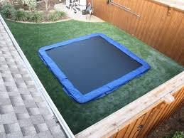in ground trampoline. In Ground Trampoline S