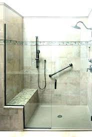 home depot shower bench handicap showers heads head bar seat installation show