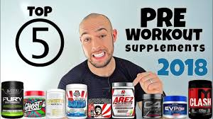 top 5 pre workout supplements 2018
