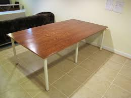 Simple DIY Large Sewing Table | The Borrowed Abode