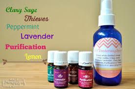 DIY Deodorizing Spray Essential Oils