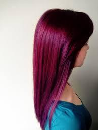 Purple Red Hair Hair Stylist 0