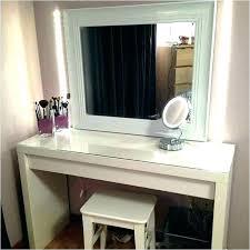 Vanities With Lights Bedroom Design White Bedroom Vanity With Lights ...