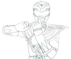Power Rangers Coloring Pages Printable For Kids 4 Jungle Fury