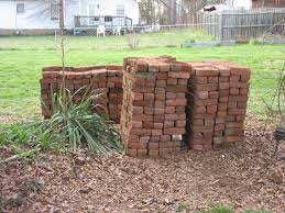 bricks for wooden house outdoor fireplace