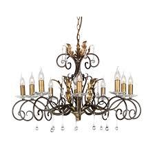 chandelier bronze gold