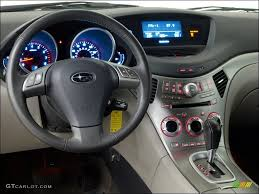 2008 Subaru Tribeca Limited 5 Passenger Slate Gray Dashboard Photo ...