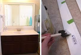 bathroom diy ideas. 9. Framed Mirror Bathroom Diy Ideas R