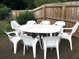 white plastic garden furniture set 8 seat white plastic garden table chair set in decorations in spanish