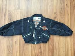 harley davidson super awesome born to ride kids toddler size 3t zip up jacket