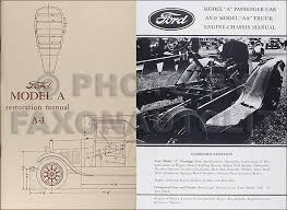 1928 1931 ford model a cowl lamps wiring diagram manual reprint 1928 1931 ford model a aa chassis body restoration set reprint