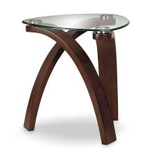 modern glass end table allure rc