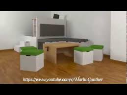 all in one furniture. multifunctional all in one furniture set for small spaces e