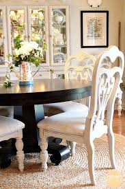 painted dining room furnitureHow To Spray Paint Dining Chairs  Refresh Restyle