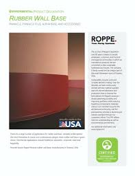 Roppe 700 Series Wall Base Color Chart Roppe Pinnacle Plus Rubber Wall Base New Warranty